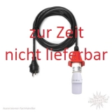 Kabel A4/A7 - 5m, Deckel rot - mit LED